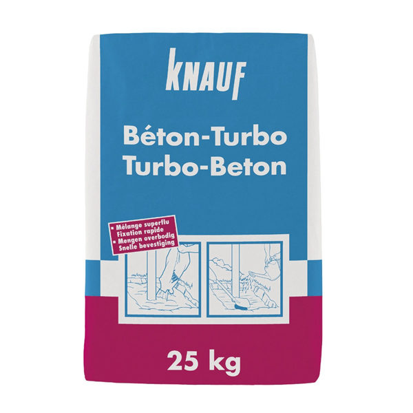Knauf turbo-béton