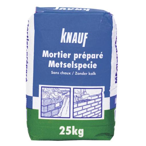 Knauf mortier préparé