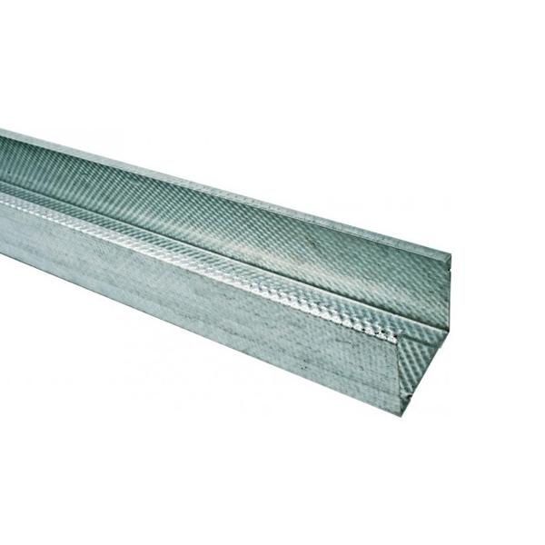 metal stud c profil c50 pour cloison vertical 0 6mm paisseur mat riaux decomat. Black Bedroom Furniture Sets. Home Design Ideas